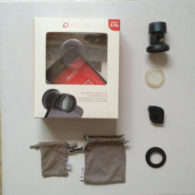 Olloclip Telephoto + circular polarizing lens untuk Iphone 5/5S