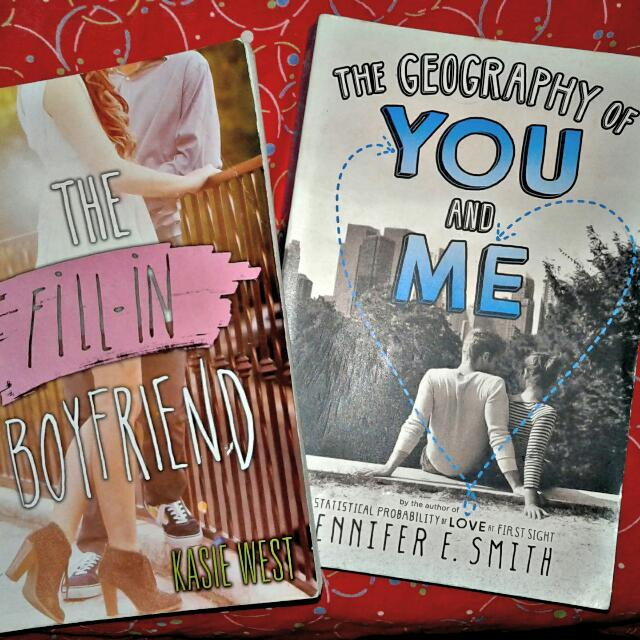 The Fill In Boyfriend By Kassie West The Geography Of You And Me By Jennifer Smith