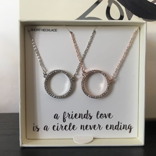 Two Frienship Necklaces