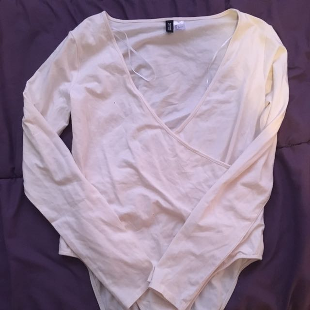 White One Piece (size L)