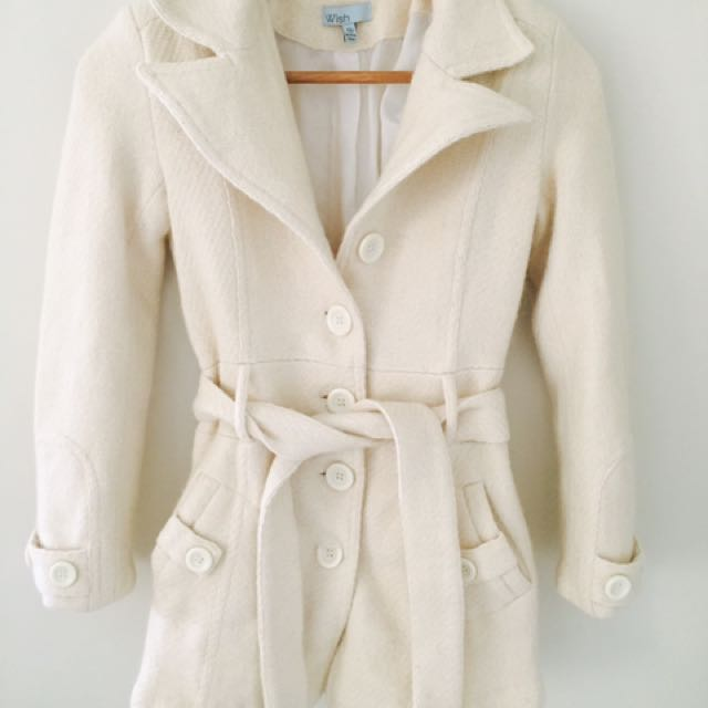 Wish Wool Coat Size 10