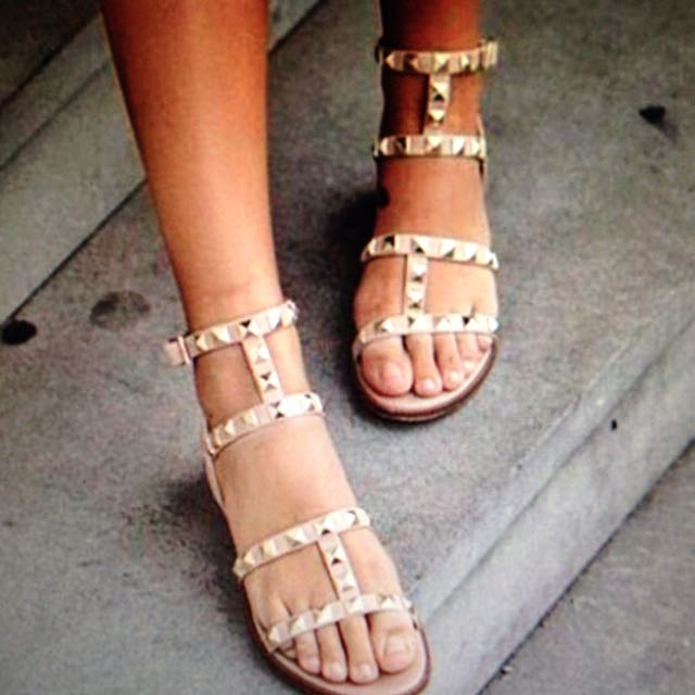 Wittner Nude Sandals Size 38