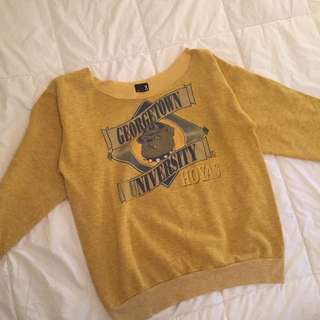 Vintage Urban Renewal University Sweater