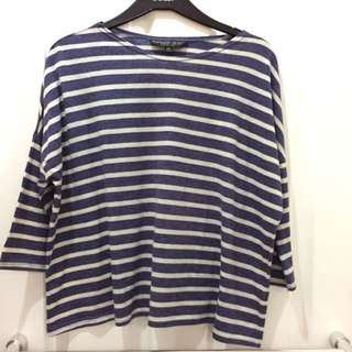Topshop Semi-cropped Top