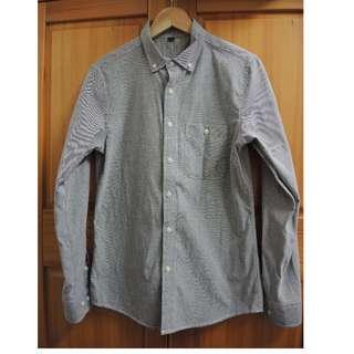 🚚 灰色 牛津 襯衫 合身 窄版