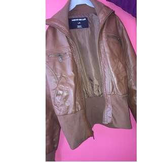Fair weather Leather Jacket