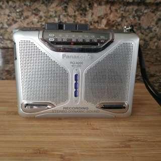 AM/FM Portable cassette Player/Recorder