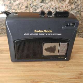 Radio Shack Tape Cassette Recorder/Player