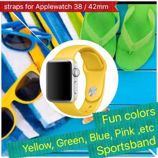 Straps For Apple Watch (Sports Band)