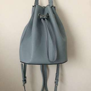 Small Blue Backpack