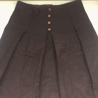 Brown Vintage Skirt