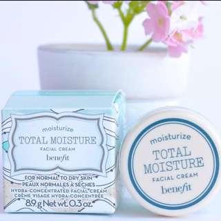 Benefit Total Moisture Facial Cream 8.5g; 0.3oz