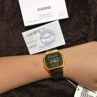 Casio Ornyx Rare Black And White Watch