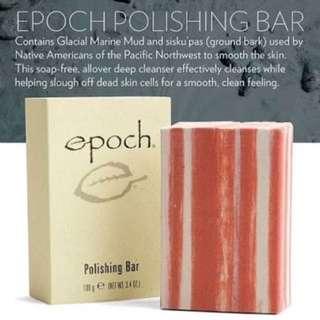 Polishing Bar soap...