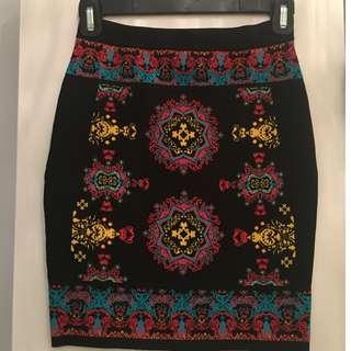 BEBE printed skirt - Size S