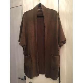 Mendocino - Camel coloured cardigan - Size S