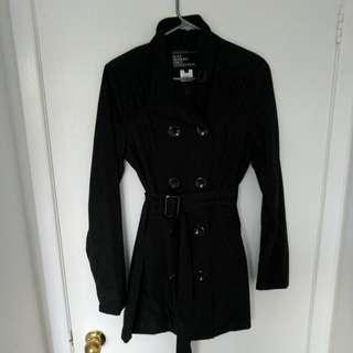 Black Spring Trechcoat