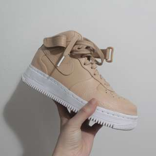 Size 6 Nikelab Air Force 1 Vachetta Tan Mid