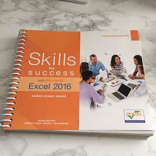 Skills For Success With Microsoft Excel 2016 (ITM 102)