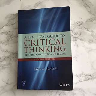 A Practical Guide To Critical Thinking (PHL 214)