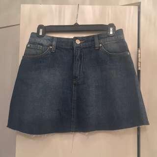 H & M Denim Skirt - Size 4
