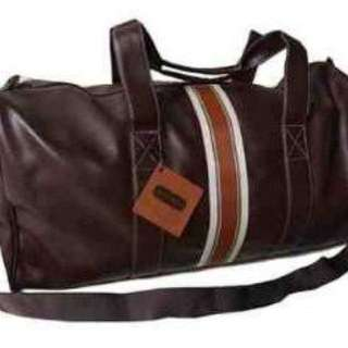 Aramis Leather Duffel Bag