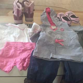 Baby Girl Clothes And Shoe