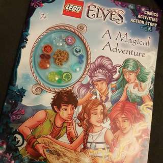 Lego Activities Story Comics - A Magical Adventure (Slight Damage)