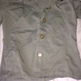 Hipster Green Jacket