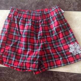 Christmas Holiday Men's Boxers (Medium)