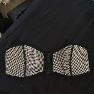Triangl Bikini Zip Front SIZE Small