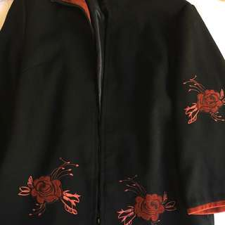 Cute Chinese Embroided Jacket