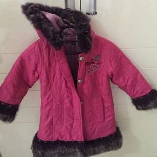 Barbie Doll Coat Size 4