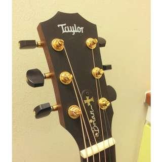 Ebonoid guitar tuner buttons