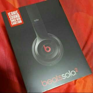 Beats by Dre Solo 2 (Authentic)