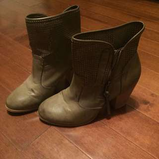 New Distressed Look Booties