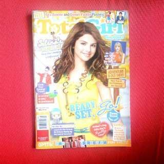 Selena Gomez Total Girl Magazine - May 2012 Issue