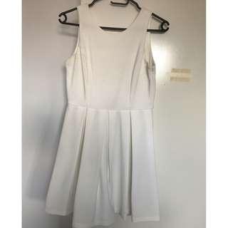 Ivory Skater Dress