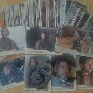 Star Wars Rogue One USA Version Trading Card