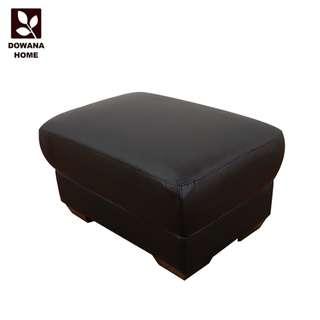 【新作入荷】Lorna洛娜Q彈咖啡皮腳凳-8316