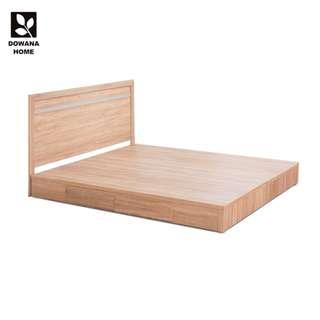 克利奧鋼刷耐磨二件式組合床片+抽屜床底-梧桐15048P-2BU【組】
