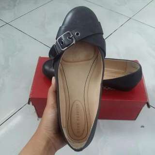 Hush Puppies Flat Shoes Black
