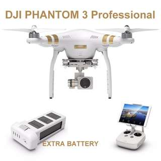 Drone Rental DJI Phantom 3 Professional