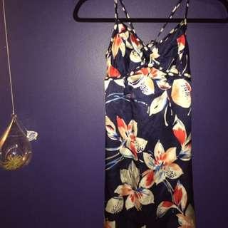 Guess Silk Floral Dress