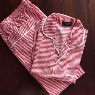 Red Stripe Pajamas