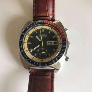 精工經典6139 Automatic 計時chronograph from 197x