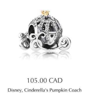 Save 40!! Cinderella Carriage Pandora Charm