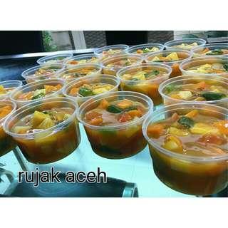 Rujak...rujak Aceh...segaar, Rasa Manis Asem Pedas...👍👍😙😙