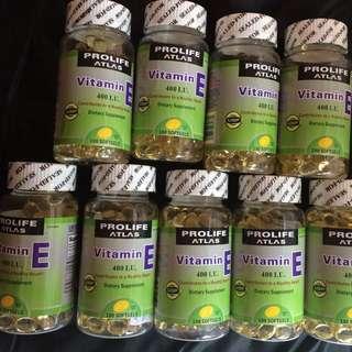 Pro life vitamin e