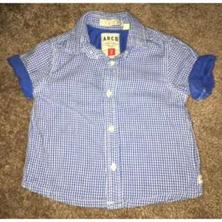 INDUSTRIE BABY BOYS CHECK SHIRT